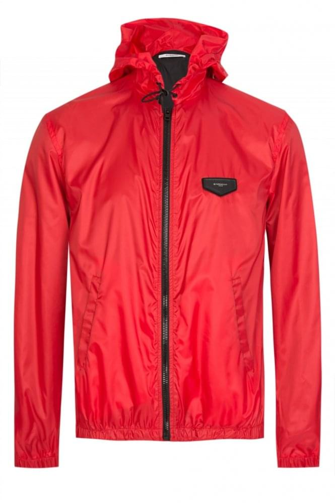 GIVENCHY Red Windbreaker