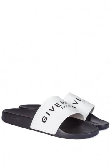 Givenchy Sliders White