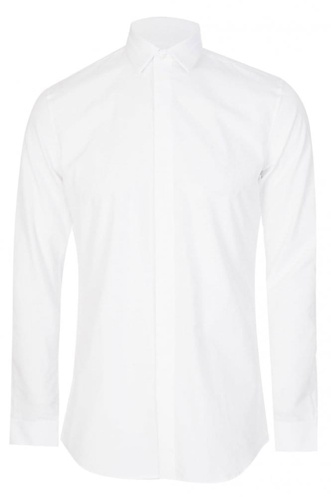 GIVENCHY Star Collar Tailored Shirt White