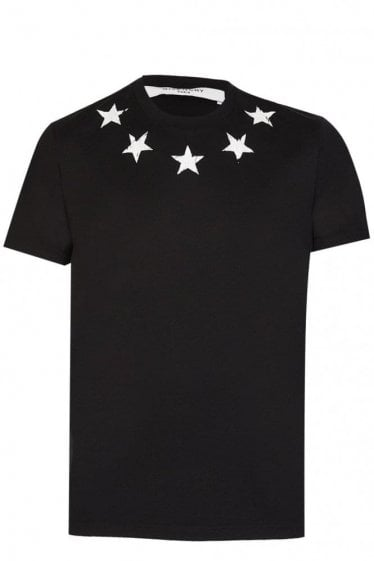 Givenchy Star Neck T-Shirt