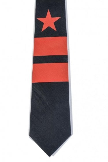 Givenchy Star & Striped Tie