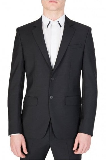 Givenchy Tailored Suit Jacket Black