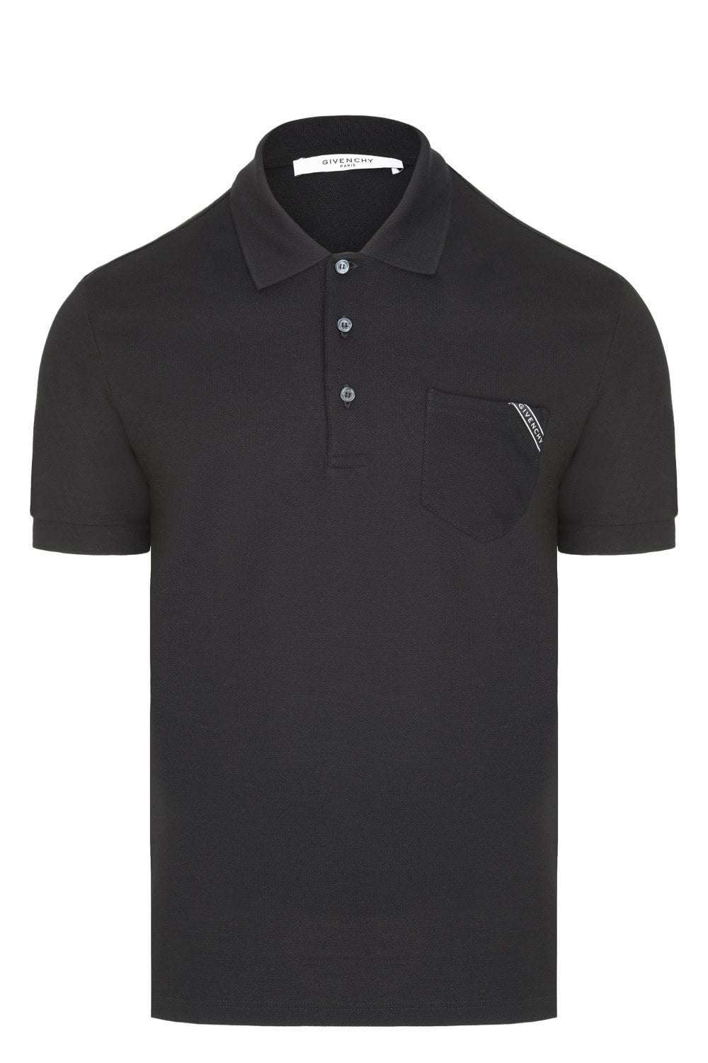 the latest bd39d ca270 GIVENCHY Givenchy Tape Logo Polo Shirt