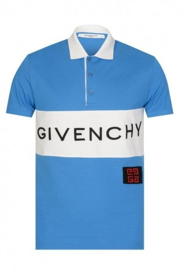 Givenchy Wrap Logo Polo Shirt