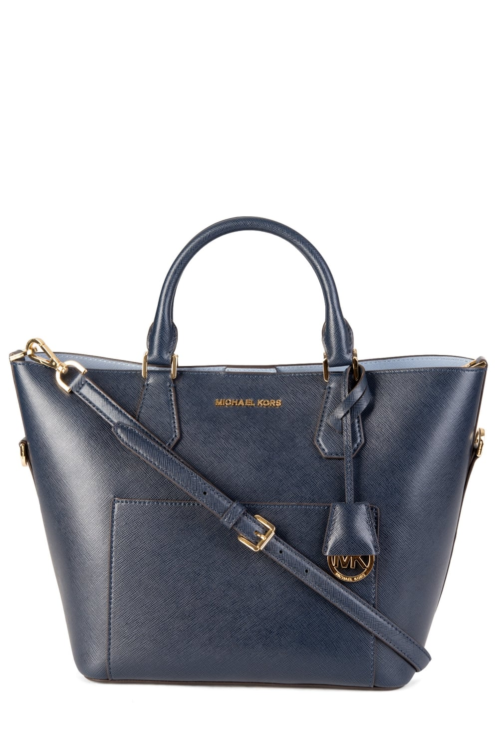 3a0fd5cad605a4 MICHAEL KORS Greenwich Large Saffiano Leather Satchel Bag - Clothing from  Circle Fashion UK