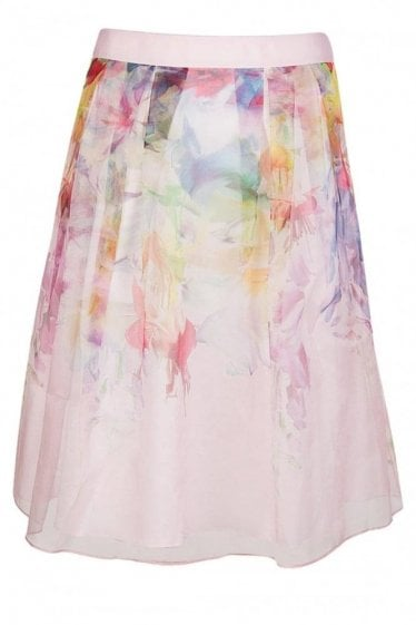 Ted Baker Womens Hanging Gardens Midi Skirt