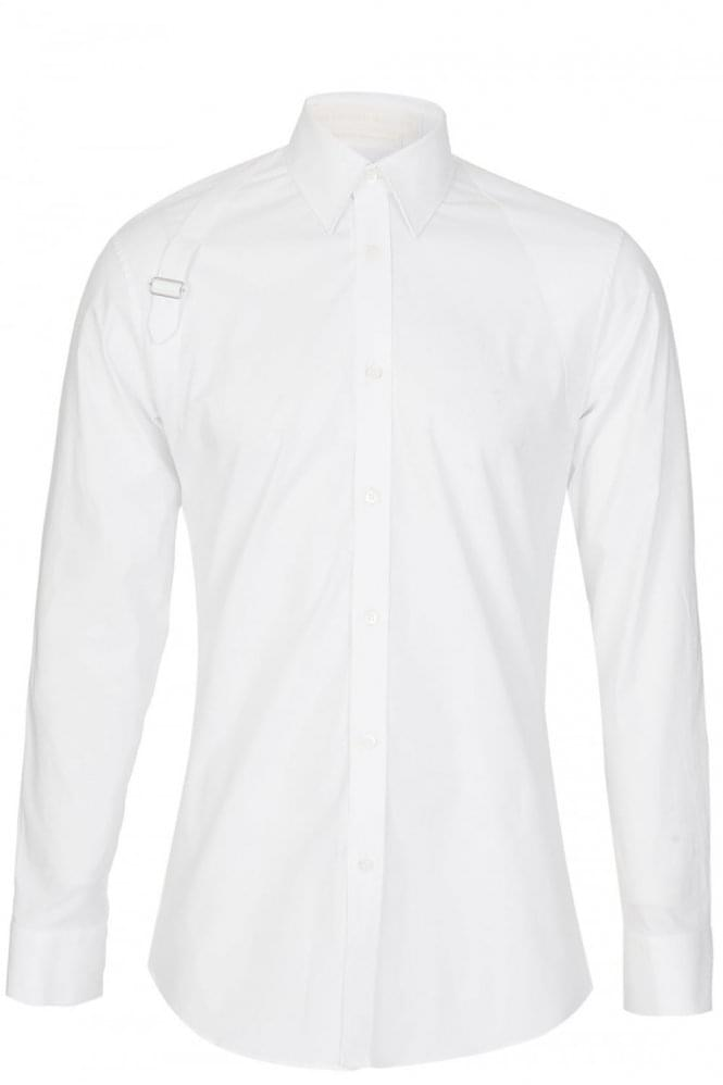 ALEXANDER MCQUEEN Harness Shirt White