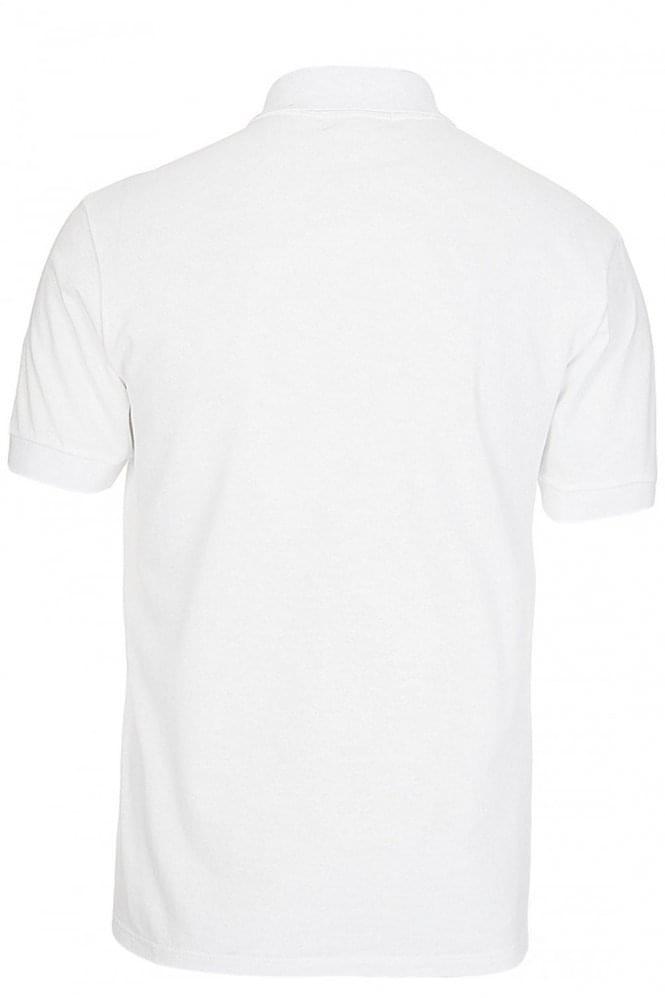 Alexander Mcqueen Alexander Mcqueen Skull Logo Polo White Clothing