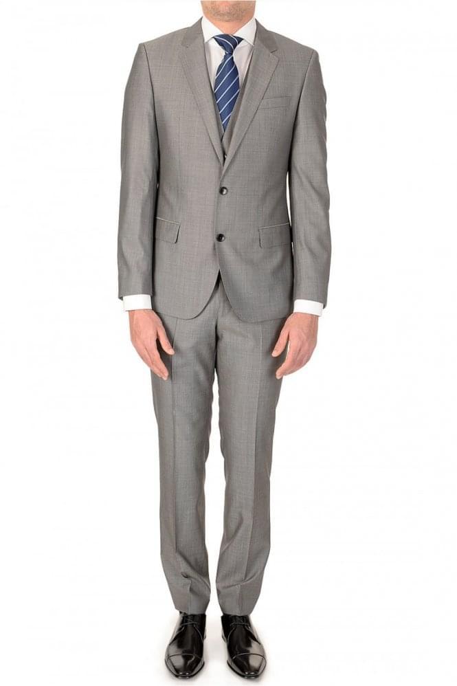 Hugo Boss Huge3Genius WE 3 Piece Suit Grey
