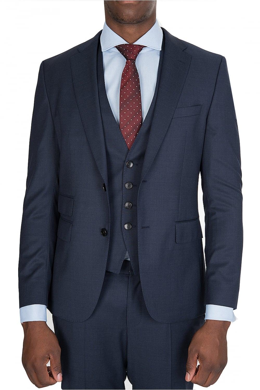 ece97a132 BOSS Hugo Boss 3 Piece Norman/Ben We Suit Navy - Clothing from ...
