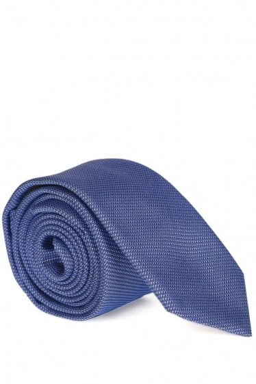 Hugo Boss 6cm Silk Tie Blue