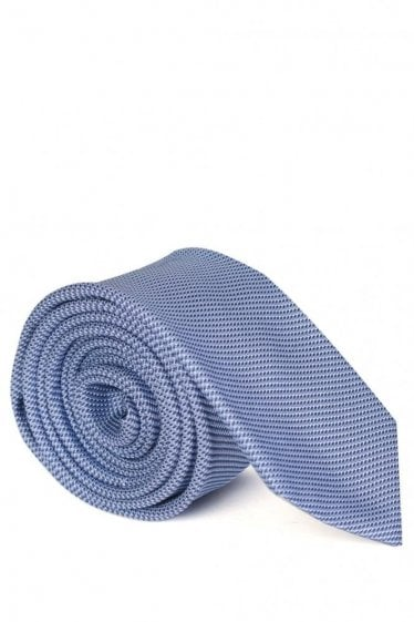 Hugo Boss 6cm Silk Tie Light Blue