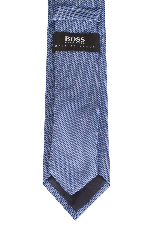 hugo boss 6cm silk tie light blue. Black Bedroom Furniture Sets. Home Design Ideas