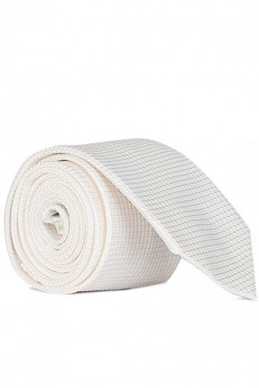 Hugo Boss 6cm Tie White