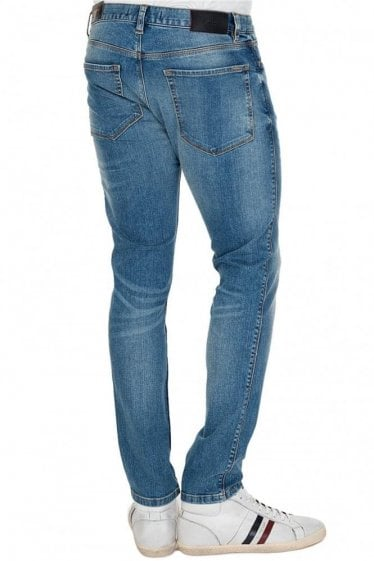 Hugo Boss 734 Washed Denim Jeans