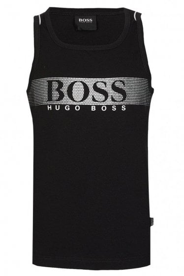Hugo Boss Beach Tank Top Black