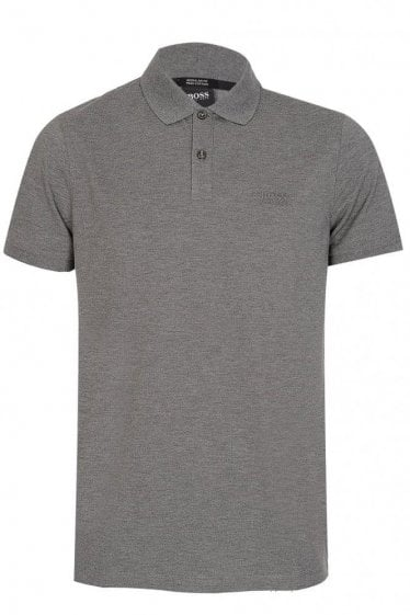 Hugo Boss Black Pallas Polo Grey