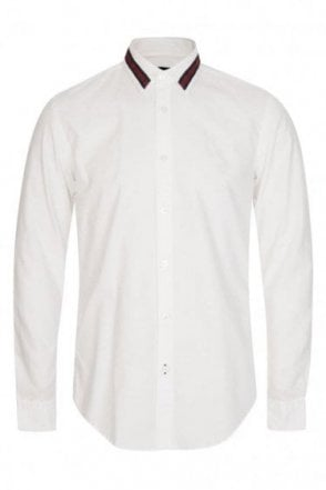 Hugo Boss Black Ronni R White Shirt