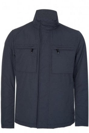 Hugo Boss Calico Coat Navy