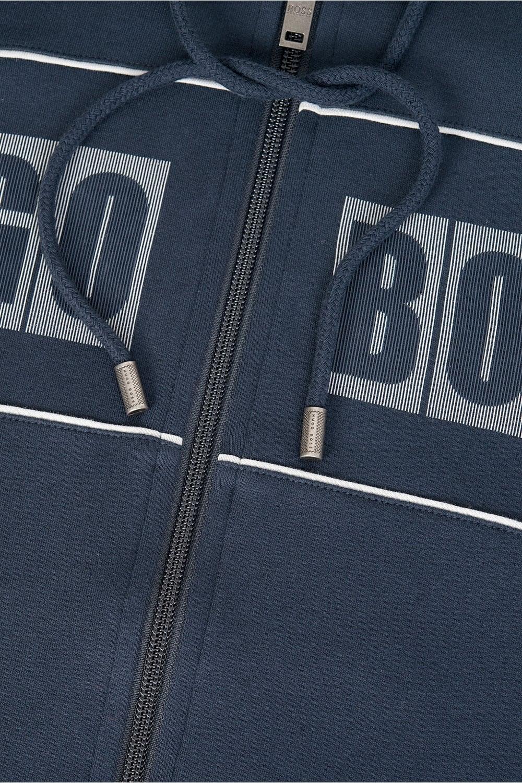 5c93e8677 Hugo Boss Combination Item Hooded Jacket Navy