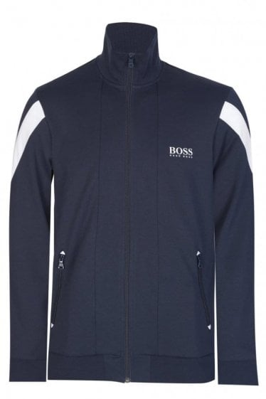 Hugo Boss Combination Item Zip Jacket Navy