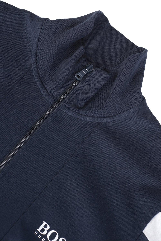 1823c5ea15b Hugo Combination Item Zip Jacket Navy