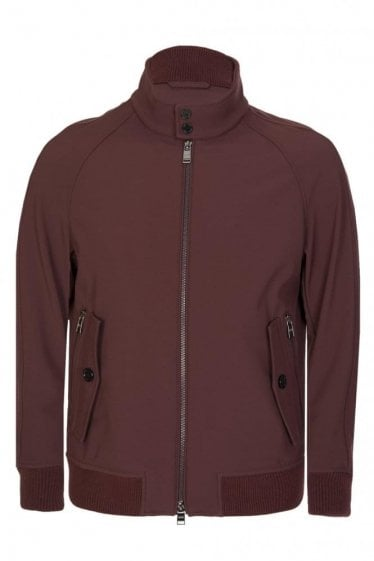 Hugo Boss 'Corva' Jacket Burgundy