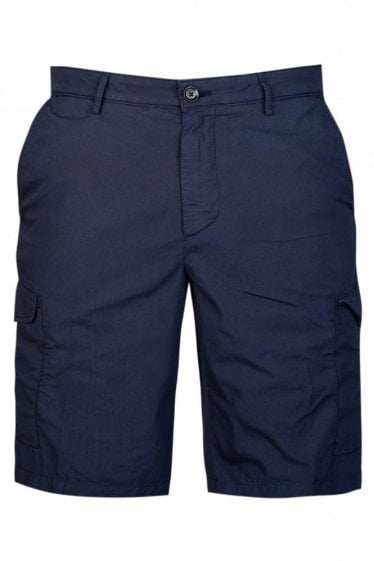 Hugo Boss Crigan Short Cargo-D Shorts Navy