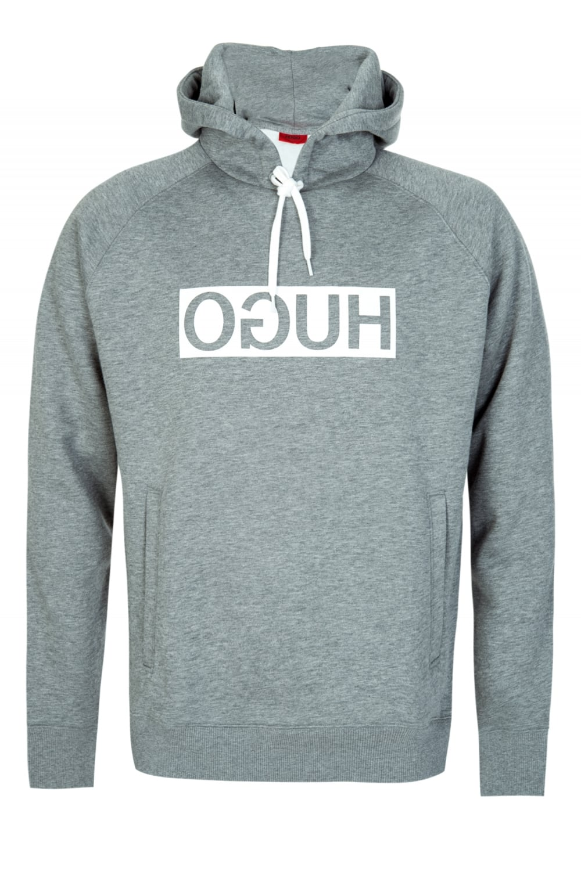 hugo boss d unisex hooded sweatshirt grey. Black Bedroom Furniture Sets. Home Design Ideas