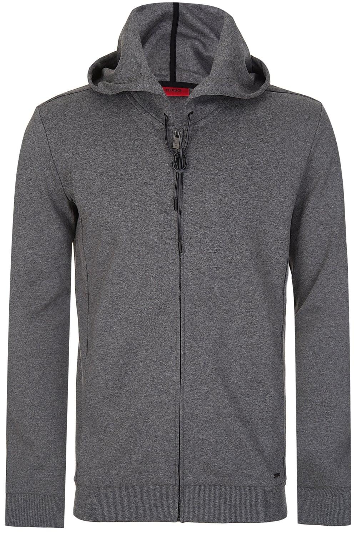 322694c72 BOSS Hugo Boss Dalermo Hooded Top Grey - Clothing from Circle Fashion UK