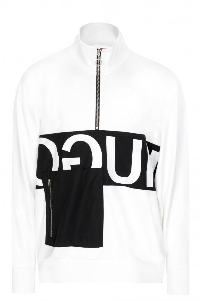 Hugo Boss Darrius Zip-through Sweatshirt