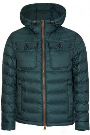 Hugo Boss Dawood Coat Green