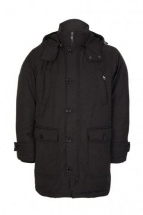 Hugo Boss Delano Coat Black