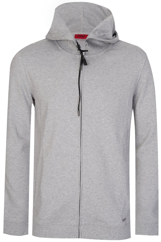 8d5b888ca8 Hugo Boss Delinger Zip Up Sweatshirt Grey