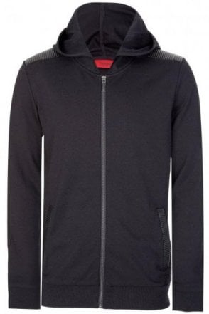 Hugo Boss Dellagio Hooded Jacket Black