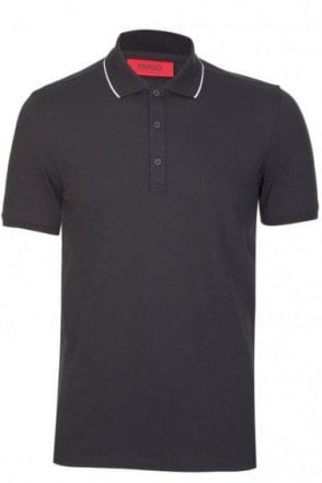 Hugo Boss Delorian Polo Black