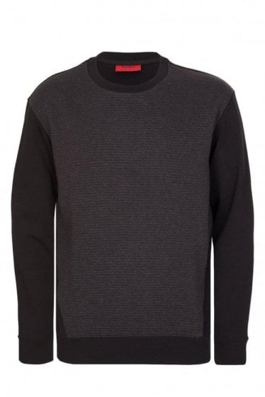Hugo Boss Dernwood Sweatshirt Black