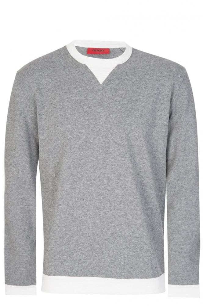 Hugo Boss Dexcalibur Sweatshirt Grey
