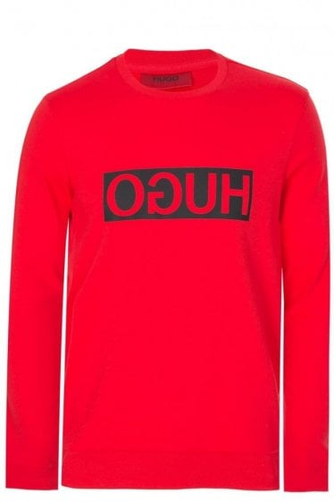 Hugo Boss Dicago Sweatshirt Red