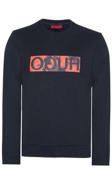 Hugo Boss Dicagos Sweatshirt Black