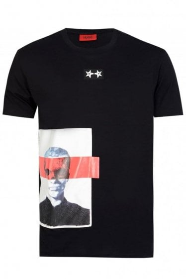 Hugo Boss Dimage Tshirt Black