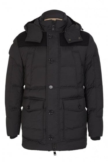 Hugo Boss Donnie Coat Black