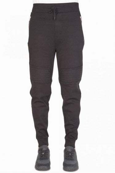 Hugo Boss Dortese Biker Joggers Black
