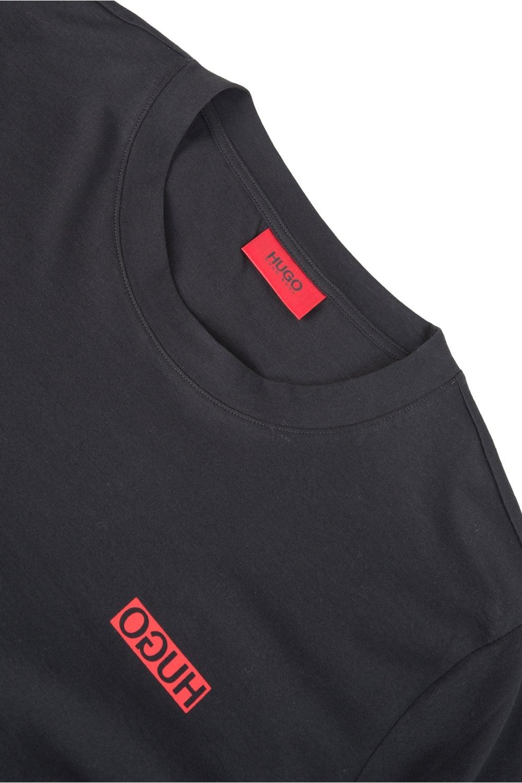 Hugo By Hugo Boss Durned T Shirt Black