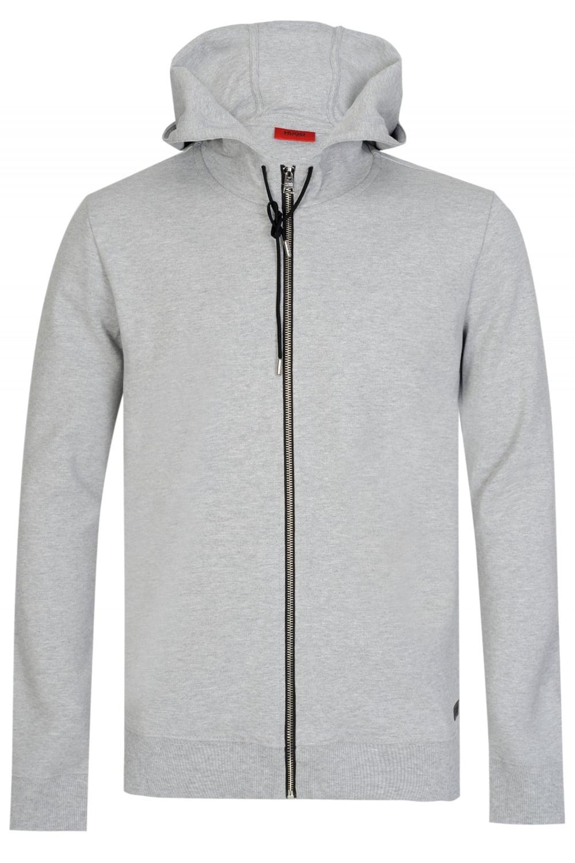 4256339fa Hugo Boss Durphy Hooded Sweatshirt Grey