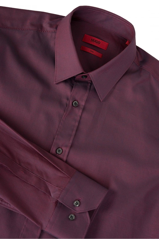 2870dde2 BOSS Hugo Boss Elisha 01 Shirt Burgundy - Clothing from Circle ...