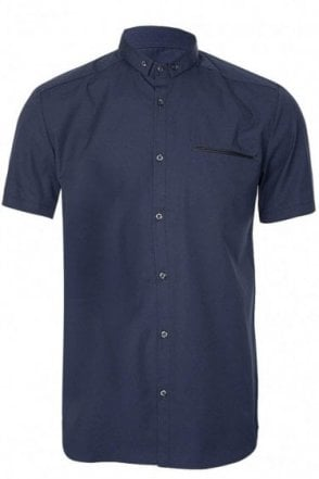 Hugo Boss 'Elpasolo' Shirt Navy