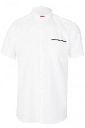 Hugo Boss 'Elpasolo' Shirt White