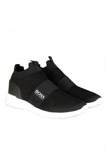Hugo Boss Extreme Slide On Knit Trainers
