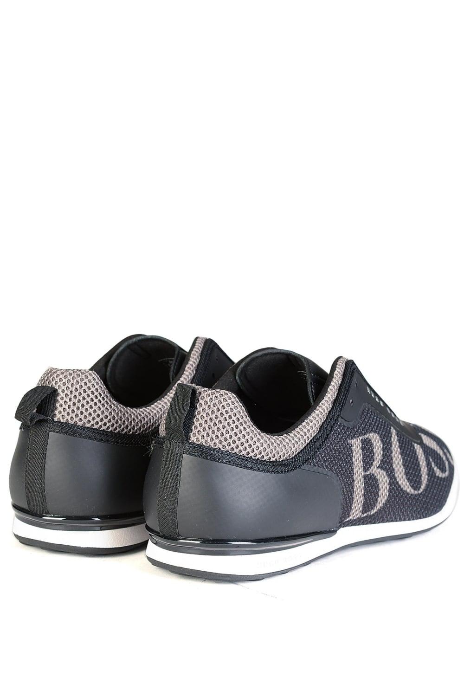 hugo boss green arkansas lowp mxpr sneakers black. Black Bedroom Furniture Sets. Home Design Ideas